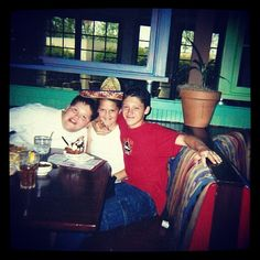 My brothers #throwback #my11thbday #siblings #chevys