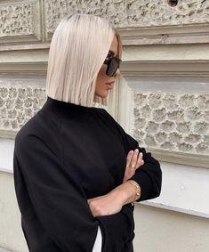 Blonde Hair Looks, Brown Blonde Hair, Short Blonde, Cool Street Fashion, Street Style, Pretty Hairstyles, Hair Trends, Fashion Beauty, Style Fashion