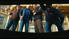 Clark Duke, Rob Corddry, Craig Robinson and John Cusack
