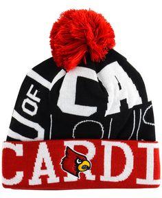 pretty nice 0e632 08d86 adidas Louisville Cardinals Cuffed Pom Knit Hat   Reviews - Sports Fan Shop  By Lids - Men - Macy s