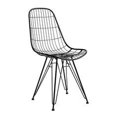 Stuhl Metall Schwarz von Nordal, 120,00 €