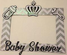 Marco tematico baby shower niño. Goma eva