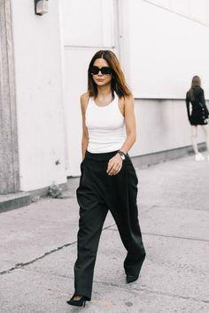 5659682d497a1 Christine Centenera. New York Fashion Week Street Style, Nyfw Street Style,  Minimalist Fashion