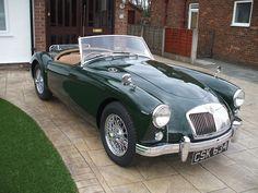 MGA (in British Racing Green)