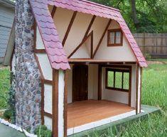 Interior beams added - My Sugarplum cottage - Gallery - The Greenleaf Miniature Community
