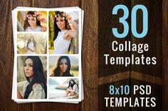 Photography Templates Photo Collage by @Graphicsauthor