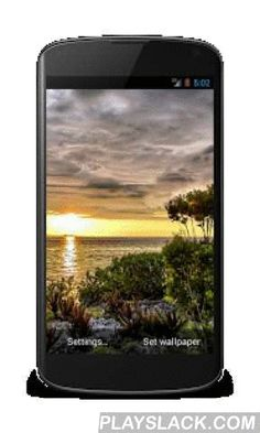 Car hd live wallpaper pro android app playslack fantasy sunset video live wallpaper hd android app playslack sunset video live wallpaperalistic live wallpaper displays the magic beautiful sunset voltagebd Gallery