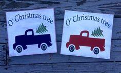 O' Christmas tree pick-up truck, $26.75