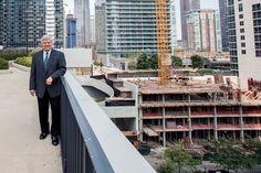 - Geoff Jones, head of school for Gems World Academy Chicago, which is under construction. - Kendall Karmanian