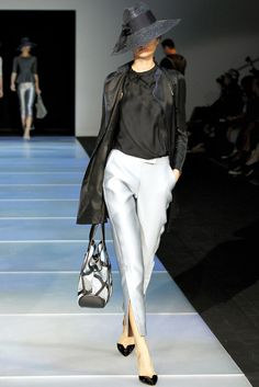Giorgio Armani Spring 2012 Ready-to-Wear Fashion Show - Coco Rocha