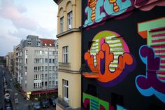 BEN EINE – MURAL IN BERLIN FOR PROJECT M/5 #art #mural #beneine #projectm5