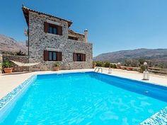Villa Mirsini in Crete - Agios Vasileios Vacation Villas, Vacation Rentals, Strand, Ideal Home, Swimming Pools, Explore, Park, Outdoor Decor, House Rentals