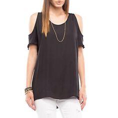 Me gustó este producto Basement Blusa Hombro Descubierto Negra. ¡Lo quiero!