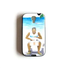 Drummer illustration cell phone cover Soft TPU Gel by liatib