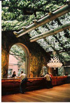 Beautiful #interiors in #NewYork's Hudson Hotel #EstaRomi