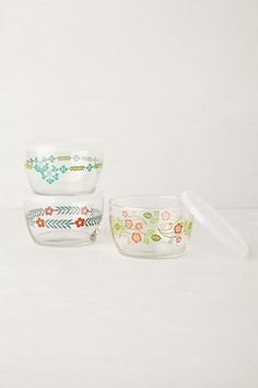 glass storage food bowl #anthrofave #homedecor
