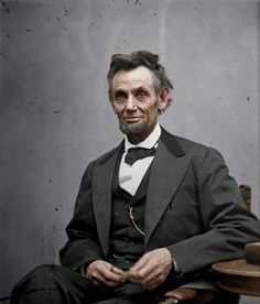 Abraham Lincoln. It's impossible to doubt that he felt the pain that comes with having sent thousands of men to their death, in order to free  people who were enslaved for so long while preserving this very country. Each death, from both armies is clearly marked in his face.