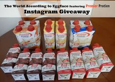 The World According to Eggface Premier Protein Shake recipe ideas Premier Protein Shakes, Best Protein Shakes, Protein Shake Recipes, Healthy Protein, Protein Foods, High Protein, Low Calorie Overnight Oats, Low Fat Desserts, Bariatric Recipes