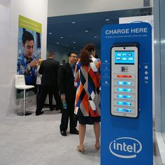 A big thank you to our partners at INTEL. Brightbox charging kioks powered by…