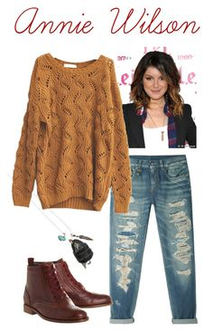 90210: Annie Wilson by justyce-thibault on Polyvore featuring polyvore, fashion, style, R13, Office, Flea Market Girl and clothing