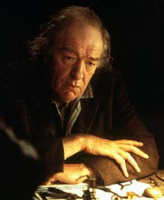 """The brilliant Michael Gambon as the incomparably brilliant John Harrison, inventor of the first marine chronometers, in the BBC film """"Longitude"""". One of my all time favorite films about one of my absolute favorite people."""