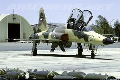 Northrop F-5F Tiger II 951 (cn W1011) After its service with the RJAF delivered to Brasil.