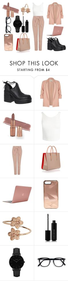 """Без названия #66"" by estellaagahanyan on Polyvore featuring мода, Windsor Smith, River Island, Sans Souci, George, Christian Louboutin, Incase, Rebecca Minkoff, Marc Jacobs и CLUSE"