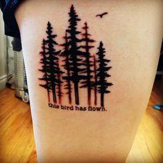 Beatles tattoo: Norwegian Wood