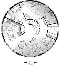 ROUND home!! - plan # 032D-0354 | houseplansandmore.com