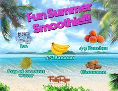 Fun summer smoothie recipe!!! #guiltfree #vegan