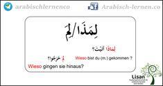 """""""Wieso?""""  arabisch-deutsch"""