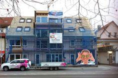 Il cantiere del palazzo in restauro dove prossimamente aprirà la gelateria Cremagelato ... clicca la foto