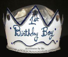 1st Birthday Boy Hat