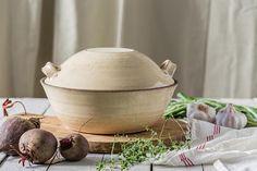 Ceramic casserole with lid Ceramic baking dish Pottery
