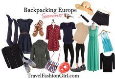 Backpacking Europe in Summer #europe #backpacking #packing #list via TravelFashionGirl.com