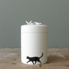 Porcelain Box Birds