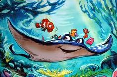 Disney and Pixar Concept Art - Finding Nemo