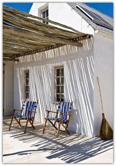 Pergola To House Attachment Deck With Pergola, Pergola Shade, Pergola Roof, Outdoor Spaces, Outdoor Living, Outdoor Seating, Casa Top, Dream Beach Houses, Patio Interior