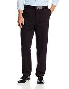 Savane Men's Big & Tall Wrinkle Free Flat Front Twill Pant, Black, 46W 28L Savane http://www.amazon.com/dp/B002HJ2SAW/ref=cm_sw_r_pi_dp_89Nbwb00MGY65