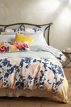 Anthropologie EU Kilele Printed Duvet