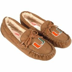 Miami Hurricanes Ladies Kenai Slippers