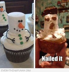 Visit http://everythingfunny.org/category/nailed-it/ for hundreds of funny bake fails, craft fails, cooking fails and nailed it pictures.
