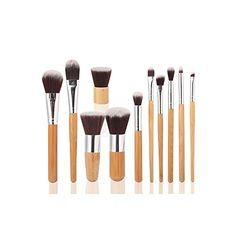 Tmalltide 11 PCS Professional Makeup Brush Set Foundation Brushes Kit Pinceis Profissionais Pinceles Maquillaje * Want additional info? Click on the image.