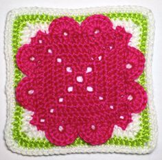 Day 16 free pattern I AM...CRAFTY!: Hooked on Granny Squares