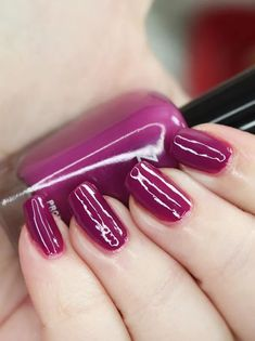 Zoya Nail Polish in Sharon from the Luscious Collection  Swatches Zoya Nail Polish, Nail Polish Colors, Let It Shine, Purple Makeup, Nice Nails, Beauty Review, Bubblegum Pink, Holiday Nails, Shades Of Purple