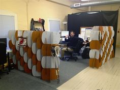 Nomad Modular Partition System in office