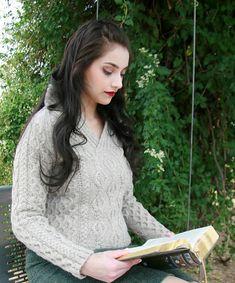 Tricot : patrons de modèles de pulls irlandais pour femme
