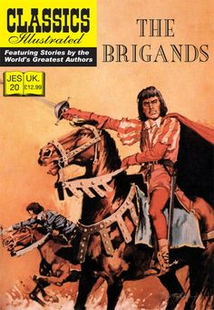Cover for Classics Illustrated (JES) (Classic Comic Store, 2008 series) #20 - The Brigands