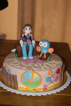 Jimmy & Hoot Giggle... Beautiful Cakes, Birthday Cakes, Cake Ideas, First Birthdays, Desserts, Food, Tailgate Desserts, One Year Birthday, Deserts