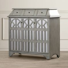 Laprade 5 Drawer 2 Door Hospitality Cabinet